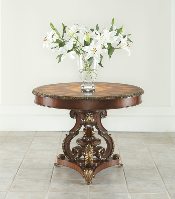 Charming Maitland Smith Center Table Traditional