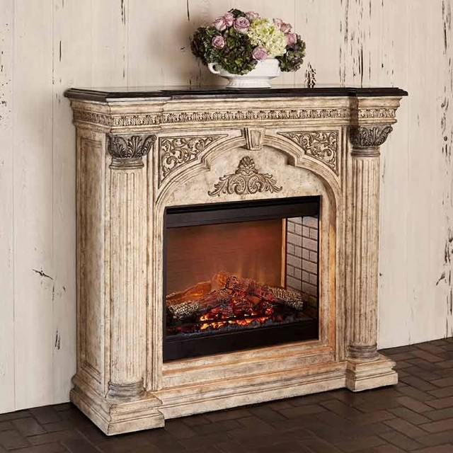 Arch Electric Fireplace.