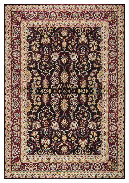 Rizzy Home Zenith Zh7062 Red Motif Area Rug Traditional