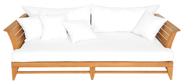 Limited 100 Daybed With Canvas Natural Cushions.