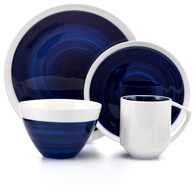 Buy Wine And Tableware Inc Midnight Glory Blue And White Porcelain