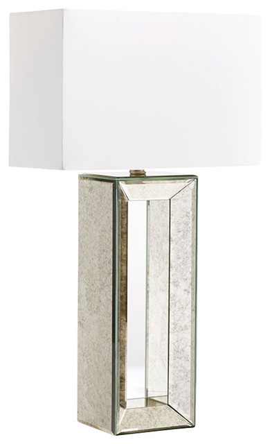 High Quality Cyan Design Metro Mirrored Table Lamp, Mirrored Glass Contemporary Table  Lamps