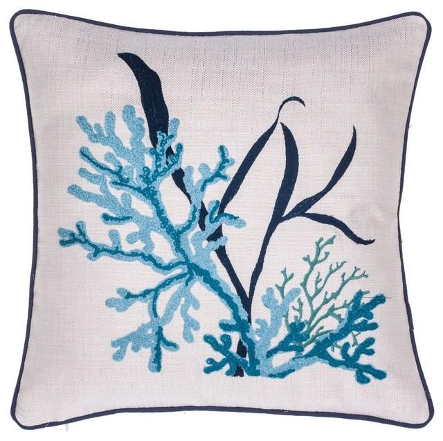 Sea Grass Pillow - Beach Style - Decorative Pillows - by 14 Karat Home, Inc