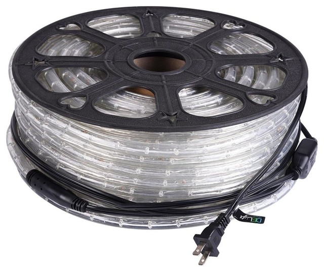 150' 2-Wire Led Rope Light, Indoor/Outdoor, Cool White