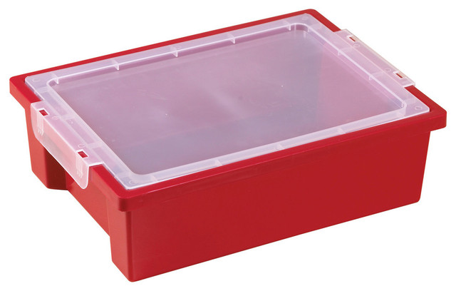 Small Storage Bins With Lid 6 Piece Contemporary Storage Bins
