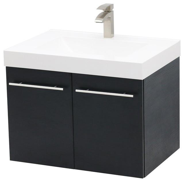 36 Wall Mount Vanity Sink Set White