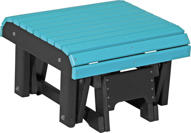 Poly Outdoor Glider Footrest Contemporary Footstools And Ottomans By Furniture Barn Usa