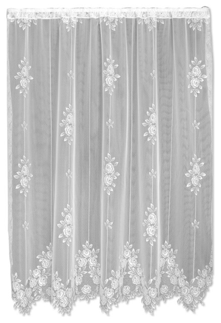 Tea Rose Panel Victorian Curtains By Heritage Lace