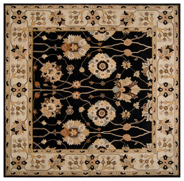 Surya Caesar cae-1033 Black, Gold, Ivory, Gray Area Rug, 10 - Caesar Area Rug, 10'x14' - Traditional - Area Rugs - By BuyAreaRugs