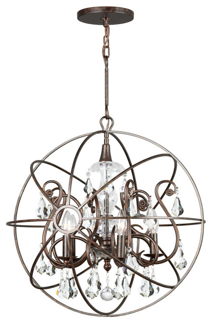 Crystorama solaris chandelier large contemporary chandeliers crystorama solaris chandelier large aloadofball Images
