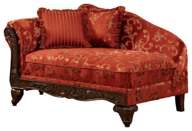 Chelsea Home Cecelia Chaise - Indoor Chaise Lounge Chairs ...