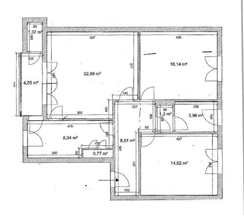 Appartamento da ristrutturare for Ristrutturare appartamento 75 mq