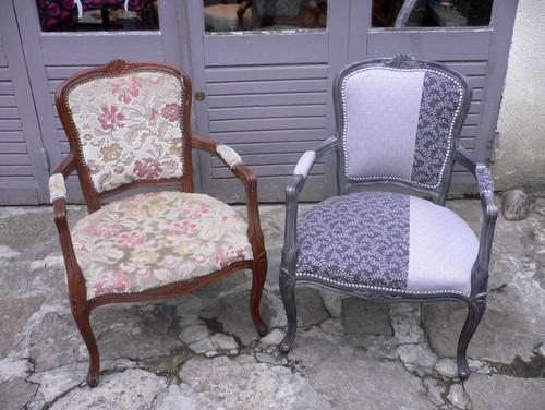 r novation d 39 un fauteuil. Black Bedroom Furniture Sets. Home Design Ideas