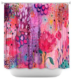 Shower Curtain Unique from DiaNoche Designs by Carrie Schmitt - Spirit Dance