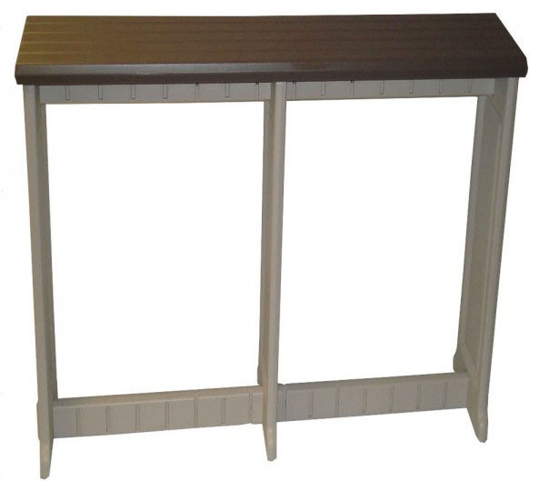 Leisure Accents 74 Quot Outdoor Patio Bar Portabello 36 Quot H X