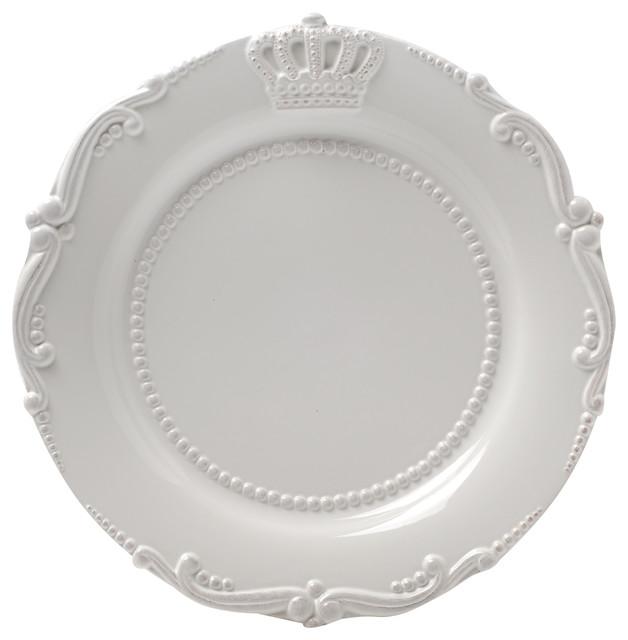 Ceramic Crown Dinner Plate a728d8ea346d