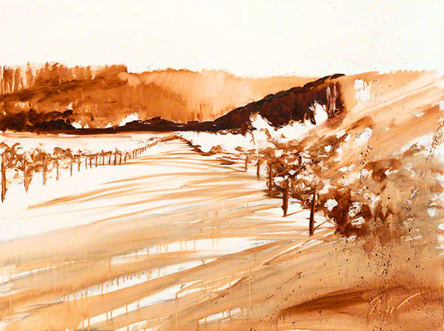 """Bring home the Napa Valley  with """"Leaving Summer"""" by Ann Rea, oil painting"""