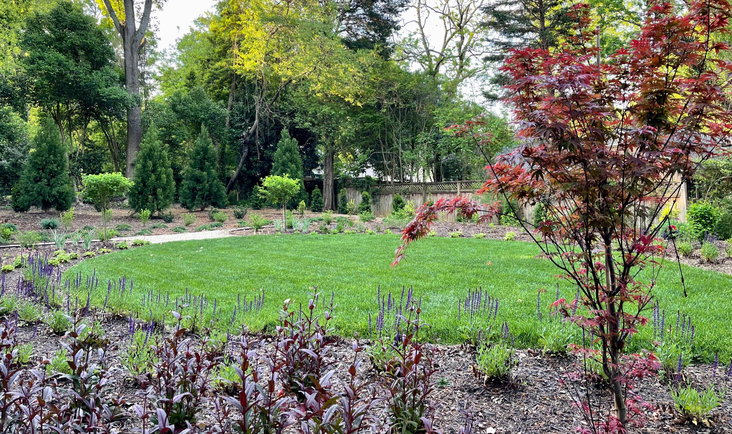 Spiritual garden.