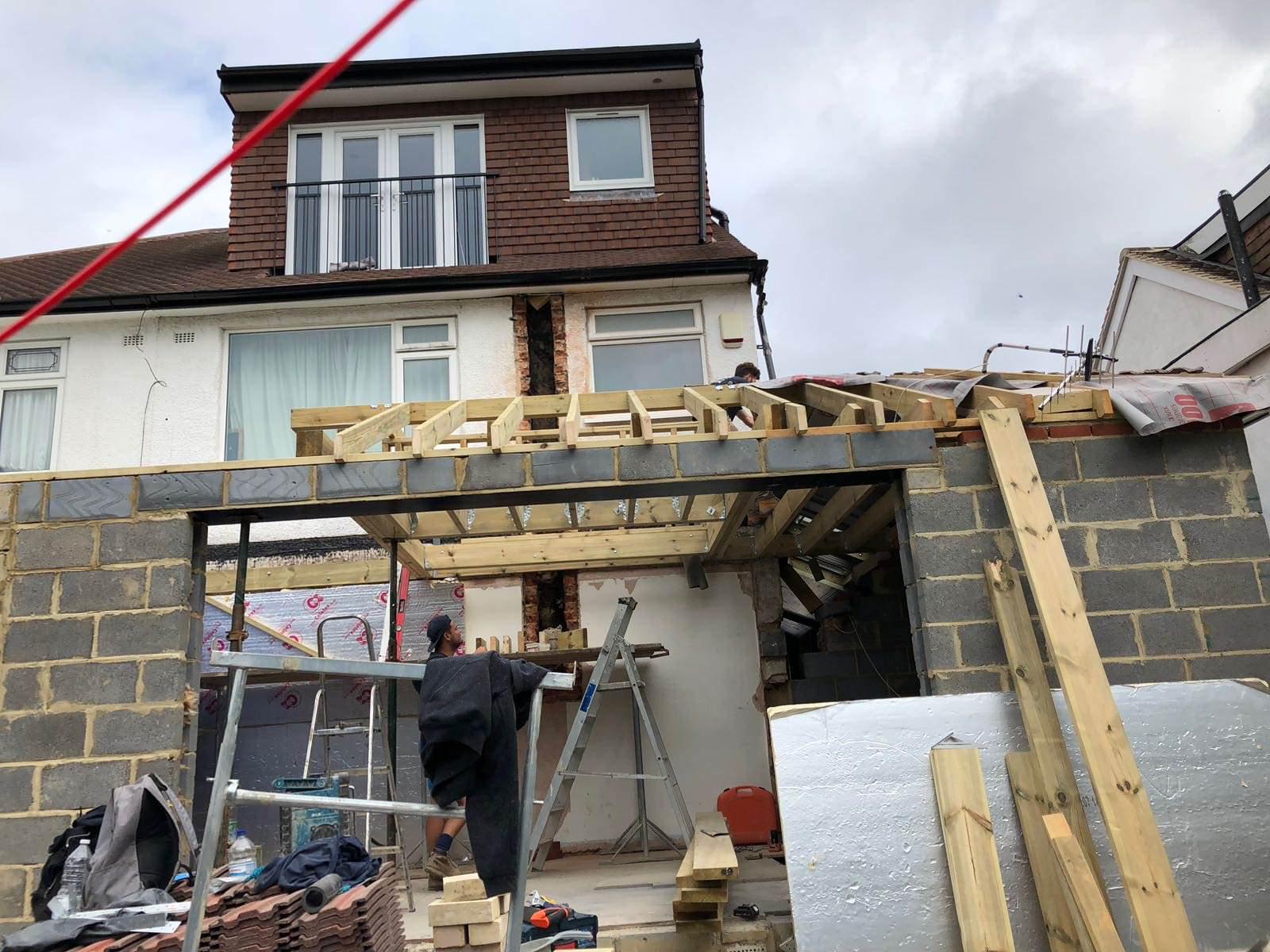 Wrap around extension & loft conversion - Orpington