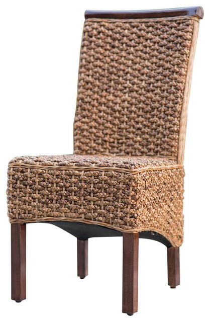 Laney Wicker Dining Chair.