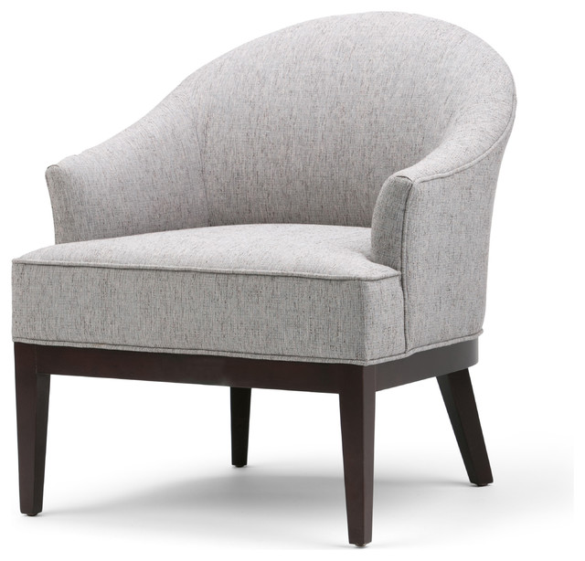 Simpli Home - Louise Tub Chair - View in Your Room! | Houzz