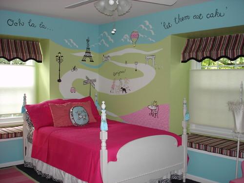 Childs Paris Bedroom bedroom