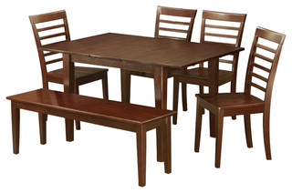 Psml6D-Mah-W, Picasso Dining Set
