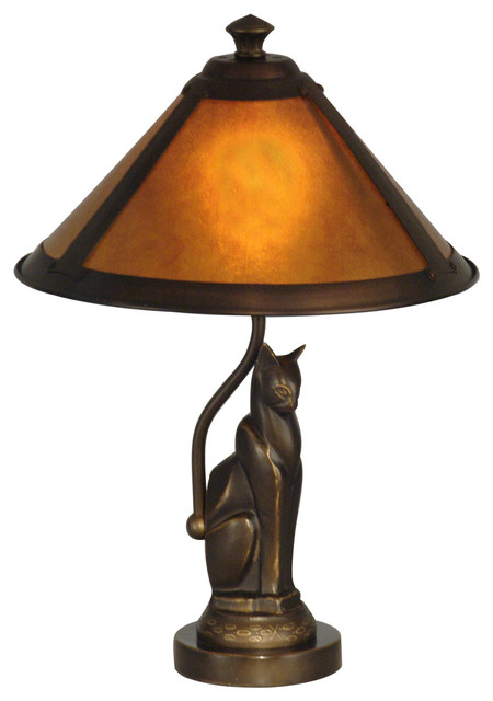 Ginger Mica Accent Lamp.