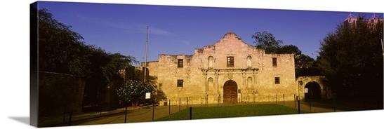 """alamo San Antonio Tx Usa"" Premium Thick-Wrap Canvas Wall Art, 60""x20""."