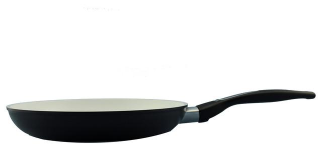 "Ceramic Non Stick Fry Pan, Black, 8""."