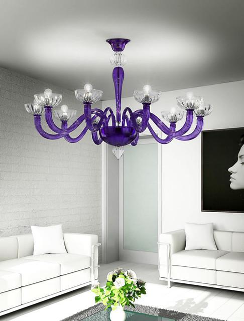 Illuminazione in vetro Murano stile Moderno - Moderno - Venezia - di ...