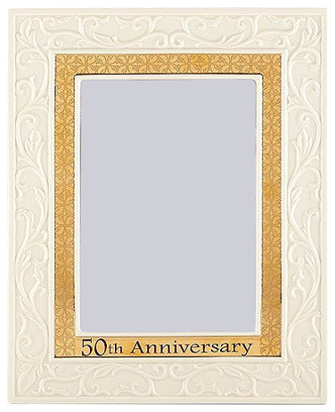 50th Anniversary Ivory and Gold 5\