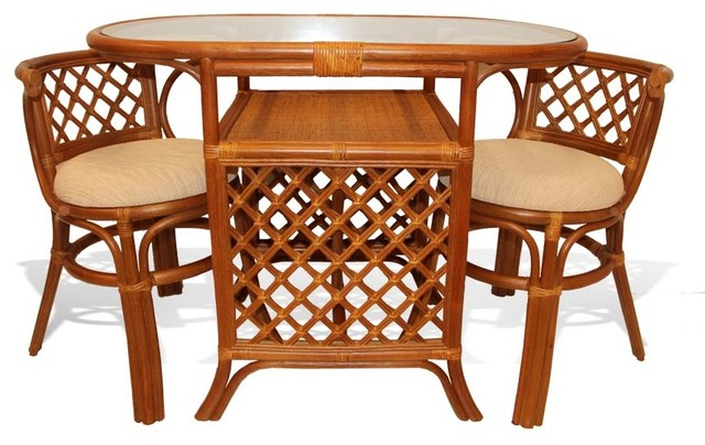 Ratta Borneo 3 Piece Dining Set For
