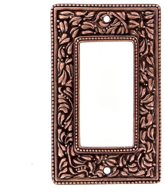shop houzz vicenza designs san michele wall plate dimmer switch plates and outlet covers. Black Bedroom Furniture Sets. Home Design Ideas