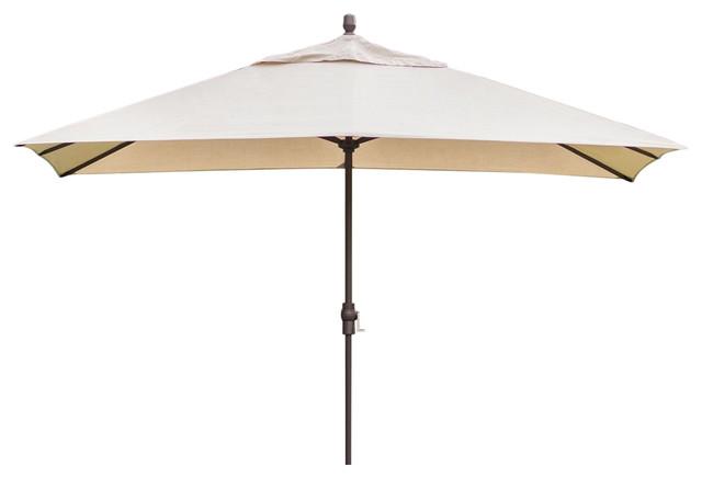 Patio Umbrella With Bronze Finish Pole