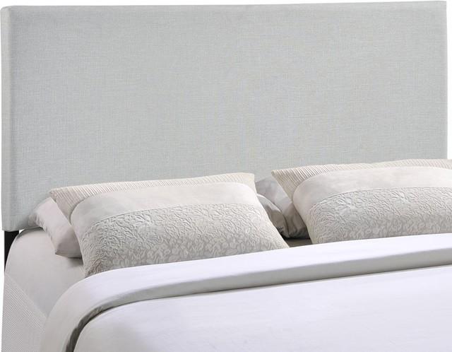 Modway Furniture Region Full Upholstered Headboard, Sky Gray.