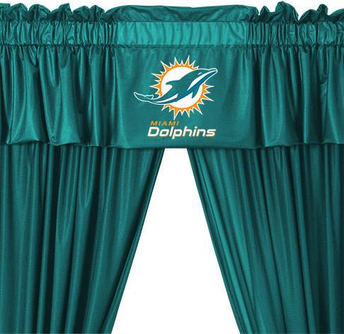 nfl bathroom accessories miami dolphins decorative bath collection shower curtain