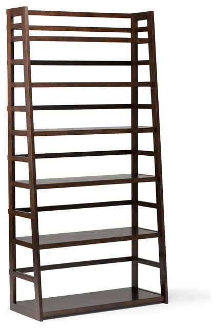 Acadian Wide Ladder Shelf Bookcase.