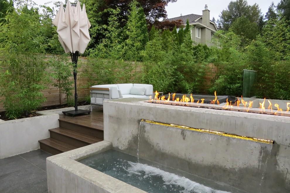 Trendy home design photo in Vancouver