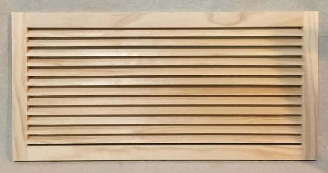 Wood Return Air Grille : Wood return air grille quot x standard square edge