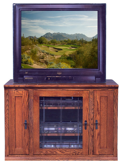 Mission Oak Tv Stand With Media Storage Rustic Entertainment Centers And Stands By Arizona