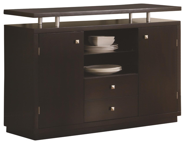 Coaster Libby 2 Door Dining Server Buffet With Floating Top by Coaster Home Furnishings