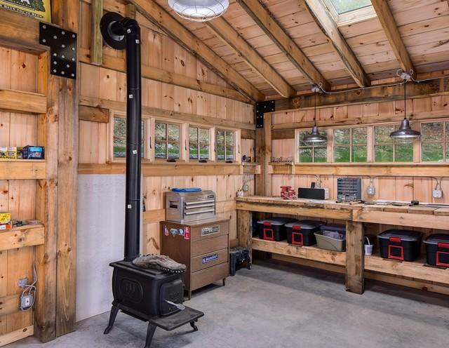 Custom Garage Shop In Tn Nashville By Beam Barns Inc