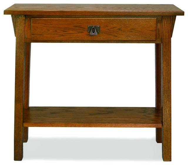 Leick Furniture Favorite Finds Russet Mission Hall Stand.