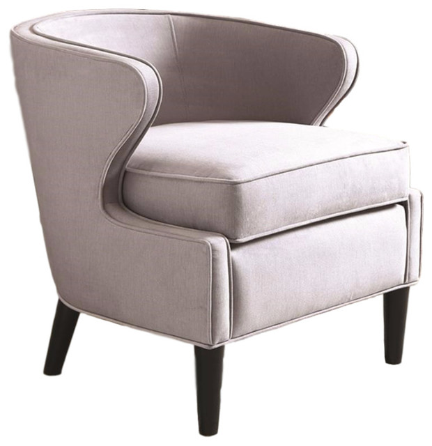 Amazing Lucca Barrel Accent Chair Gray Short Links Chair Design For Home Short Linksinfo
