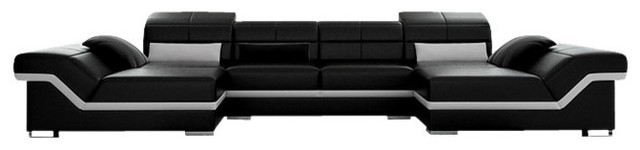 Matrix Double Chaise Sectional contemporary-sectional-sofas  sc 1 st  Houzz : double chaise sectional sofa - Sectionals, Sofas & Couches