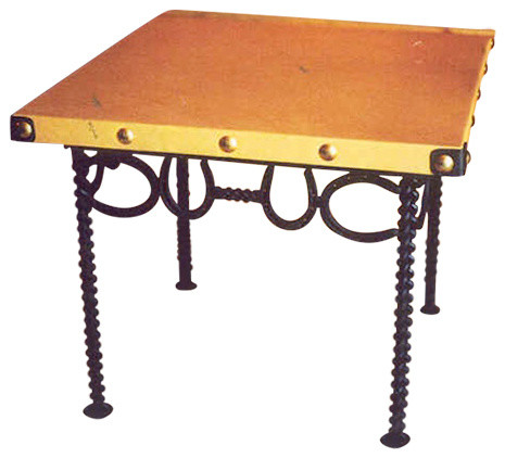 Southwestern Coffee Table Horseshoe End Table Southwestern Side Tables And End