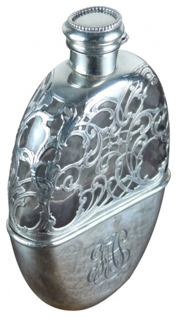 Sterling Silver Flask 365