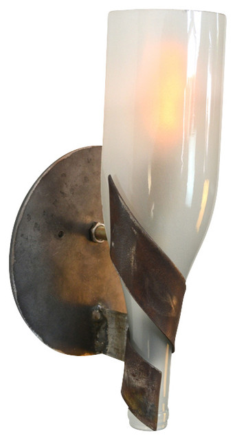 dulcet wine bottle wall sconce