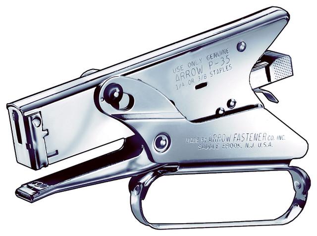 Arrow Fastener Heavy Duty Plier Type Stapler.